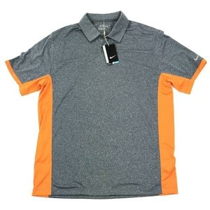 NWT Nike Victory Block Polo Golf Shirt L